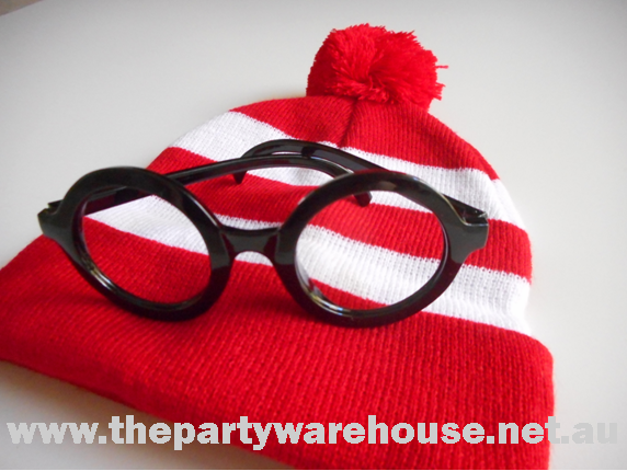Wally Beanie and Glasses