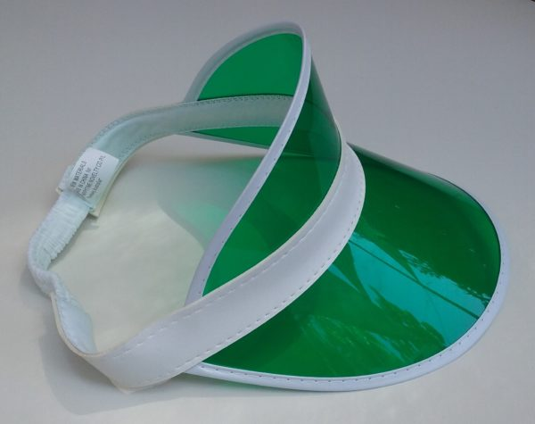 Card Dealer Green Visor