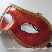 Masquerade Mask - Orange