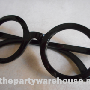 Wally Black Rimmed Glasses - No Lens