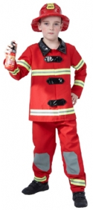 Child Costume - Fireman