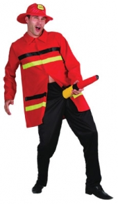 Adult Costume - Funny Firefighter