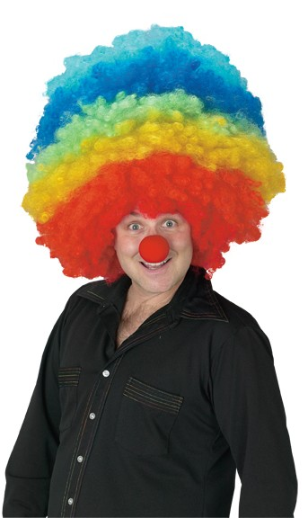 Mega Clown Wig