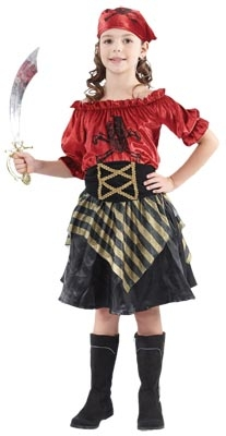 Child Costume - Pirate Beauty