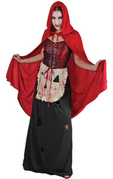 Adult Costume - Wicked Red Riding Hood