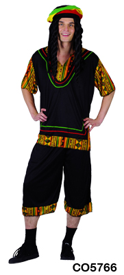 Adult Costume - Rasta