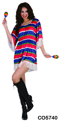 Adult Costume - Mexican Dress