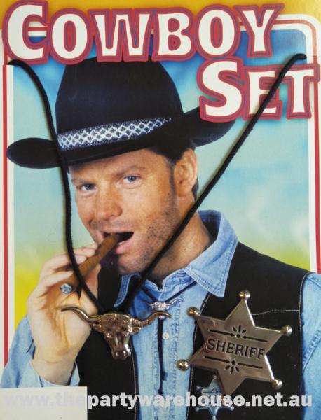 Cowboy Set - Badge & Bolo Tie