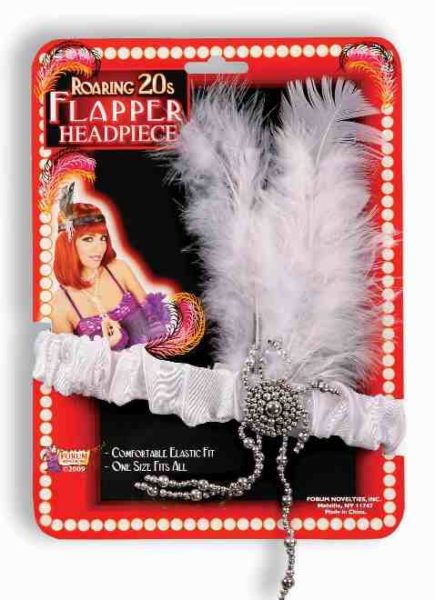 Flapper Headpiece White