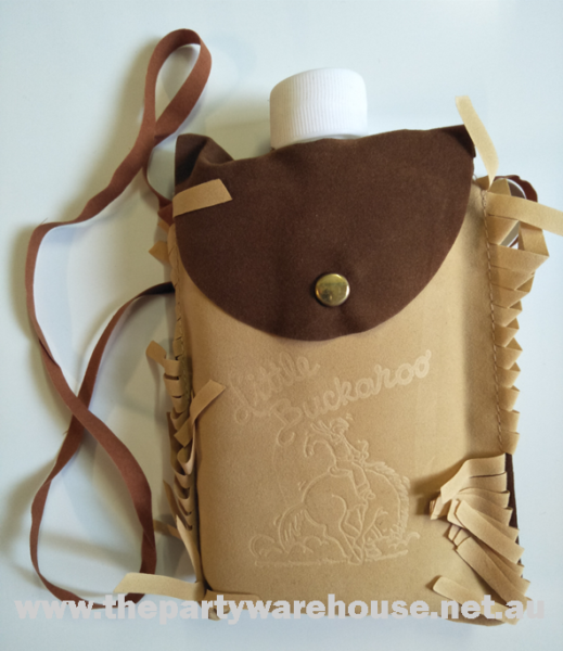 Indian Flask with Pouch