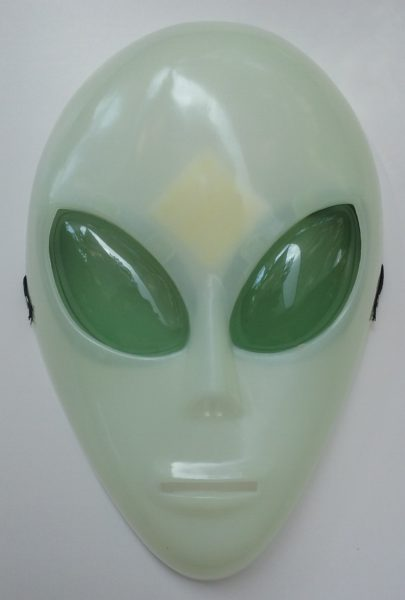 Alien Glow in the Dark Mask