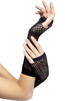 Fishnet Gloves Long