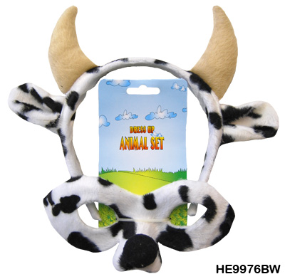Black and White Cow Dress Up