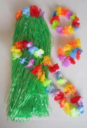 Grass Skirt 58cm Kit Green