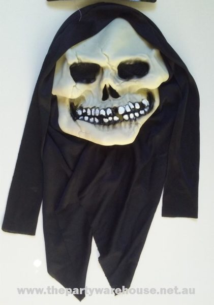 Skull Mask with Shroud