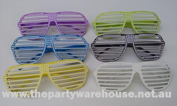 Shutter Shades with Diamonte