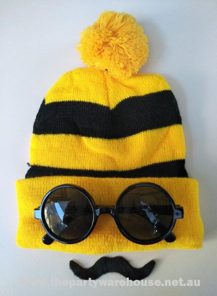 Odlaw Beanie Set with Dark Lens Glasses