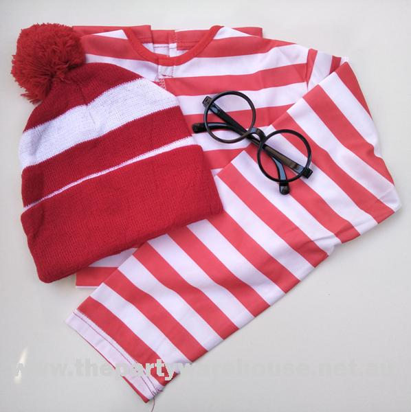 Wally Red and White Long Sleeve Kit