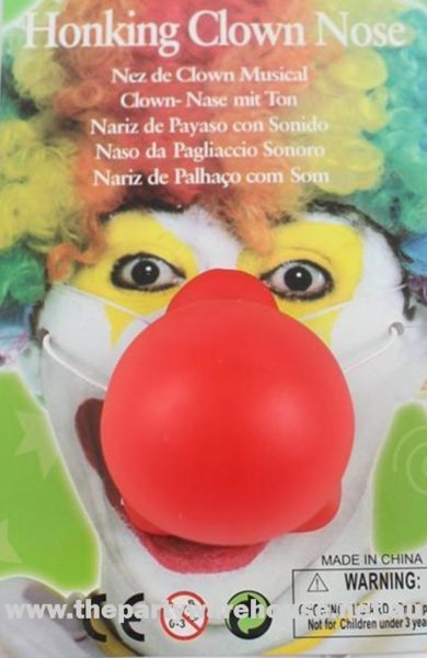 Honking Red Clown Nose