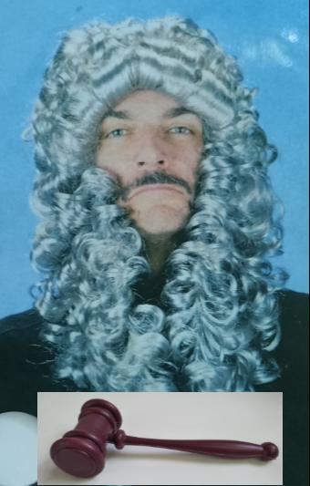 Judge Costume Kit